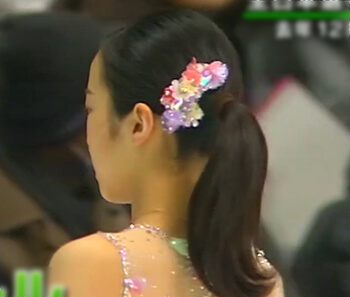 本田真凛 ポニーテール