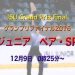 ジュニアグランプリファイナル2016【ペア】ショート動画