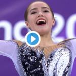 ザギトワ│平昌オリンピックフリー・FS滑走時間・ライブ動画